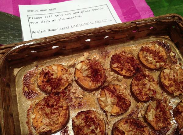 Sweet Potato/apple Packets Recipe
