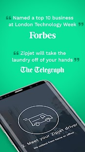 Laundry App by Zipjet: Your mobile Dry Cleaner - náhled