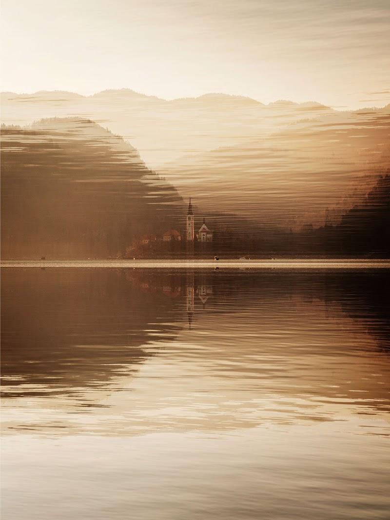 Bled lake di Sebastiano Pieri