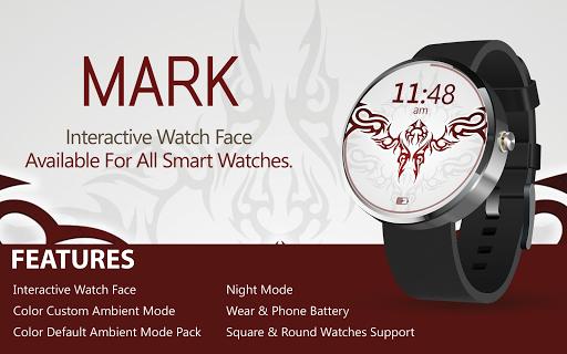 MARK Tattoo Watch Face