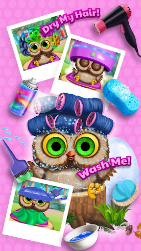 Baby Animal Hair Salon 3 screenshot 4