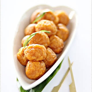 Fried Sweet Potato Balls 炸翻薯球.