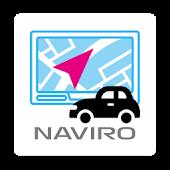 無料カーナビ【ナビロー】渋滞回避、ドライブレコーダー付ナビ