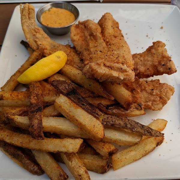 GF fish & chips!