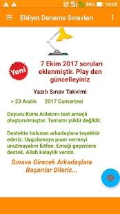 Ehliyet Deneme Sınavları - náhled