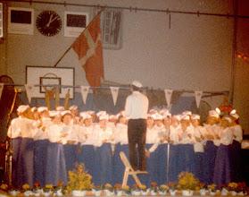 Photo: Karrebækhallen maj 1984