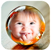 Crystal Ball Photo Frames
