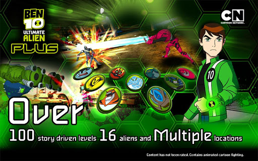 Ben 10 Xenodrome Plus captures d'u00e9cran 1