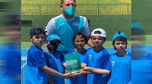 El Club Natación, campeón de Andalucía de tenis en benjamines