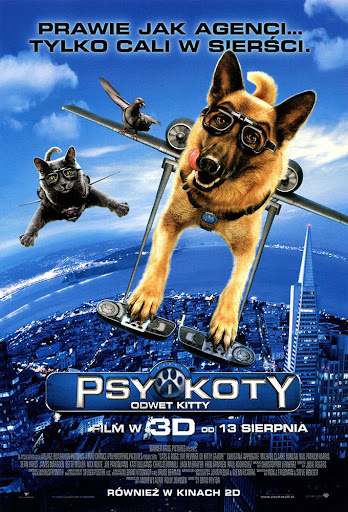 Przód ulotki filmu 'Psy i Koty: Odwet Kitty'