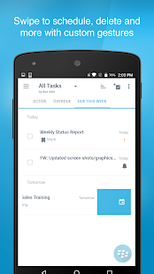 BlackBerry Tasks- screenshot thumbnail