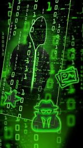 Neon Secret Hacker Launcher Theme Apk Download For Android 3