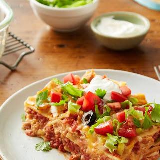 Taco Fiesta Chicken Lasagna.