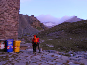 Photo: Partenza alle prime luci verso la Ciammarella.