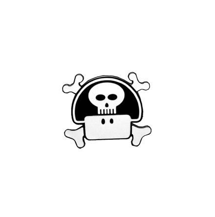 Belt Buckle - Nintendo Mushroom