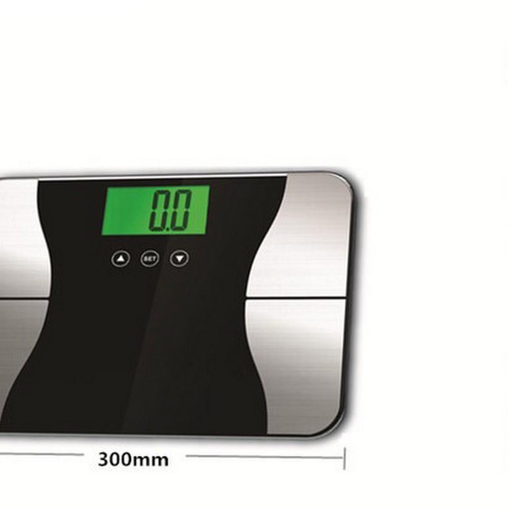 智能精準脂肪体重多功能夜光顯示屏電子磅 包邮