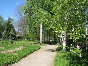 Photo: В саду при доме-музее.