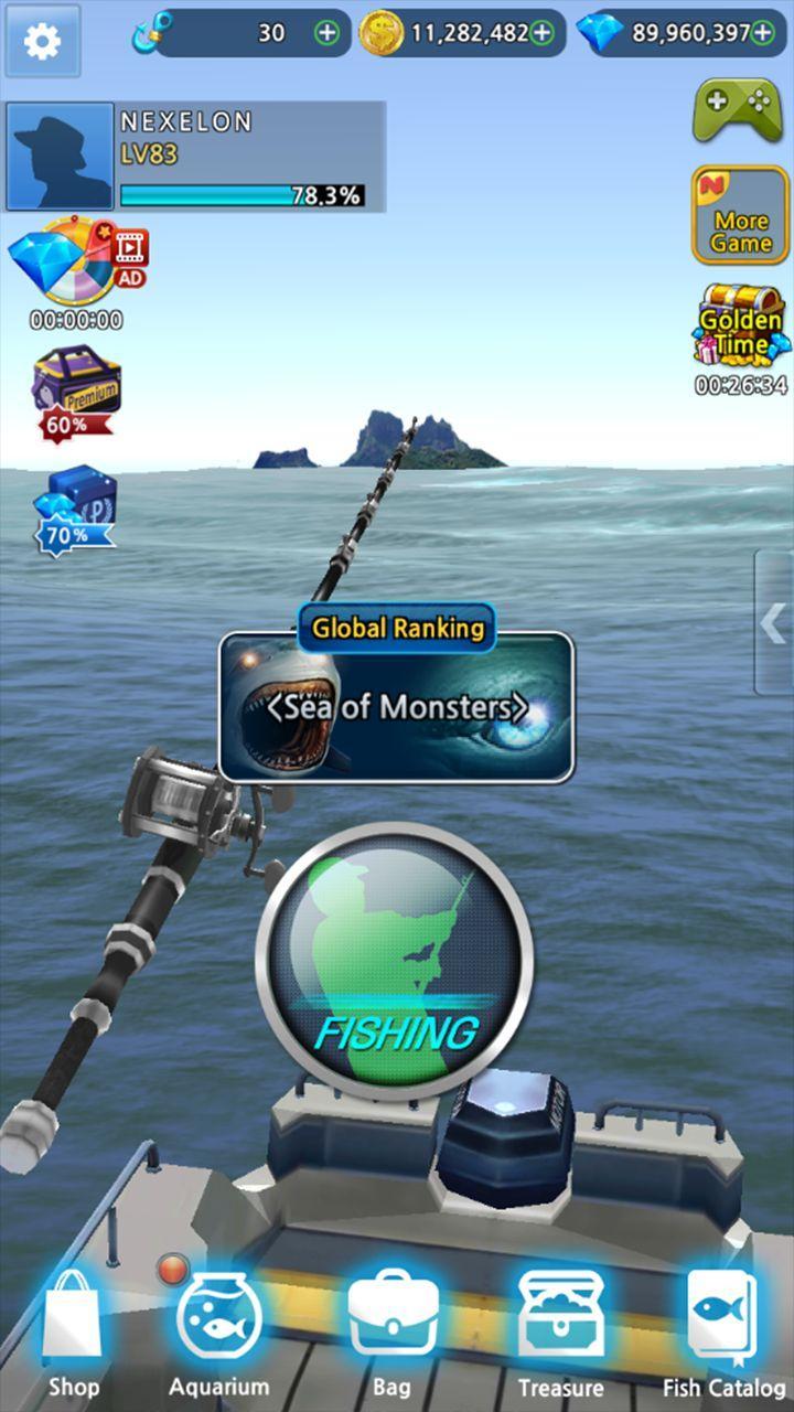 Monster Fishing 2019 Screenshot 1