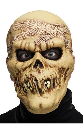 Plastmask, Skelett