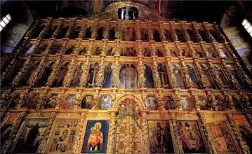 Photo: Семиярусный иконостас высотой 42 метра.