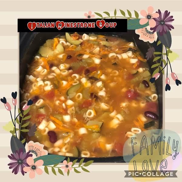 Quick Italian Minestrone Soup