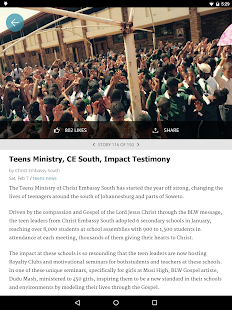 LoveWorld News- screenshot thumbnail
