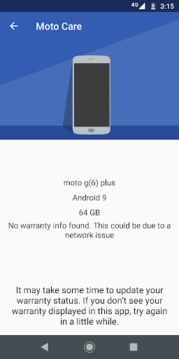 Moto Help (previously Device Help) - screenshot