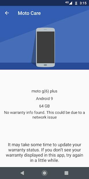 Moto Help (previously Device Help) screenshot 2
