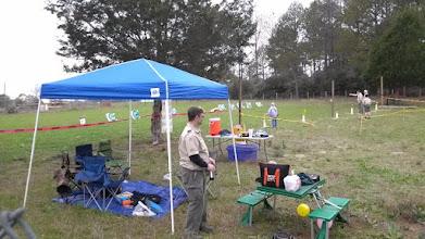 Photo: Brosig archery range backwards