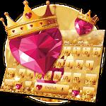 Diamond Golden Crown Keyboard