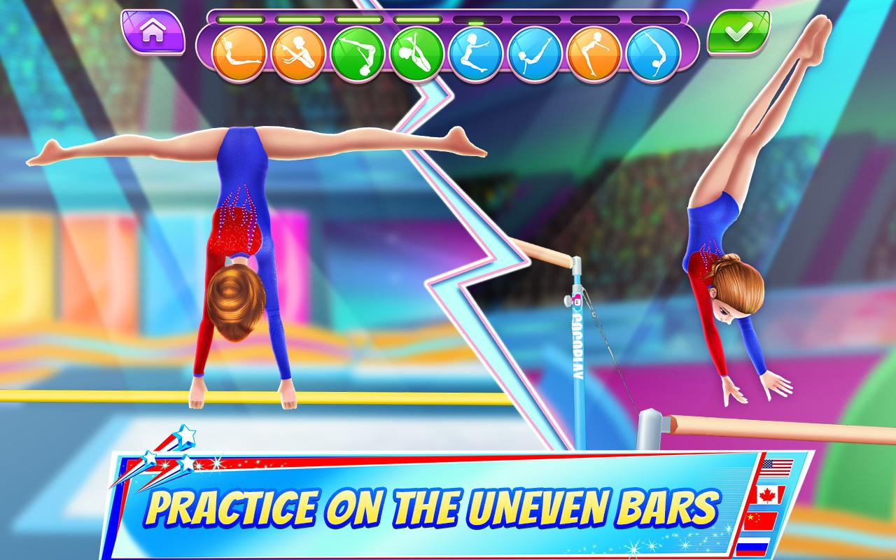 Gymnastics Superstar Get A Perfect 10 Android Apps On