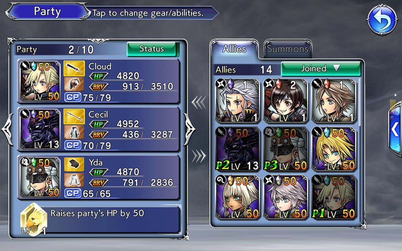 DISSIDIA FINAL FANTASY OPERA OMNIA screenshot #7