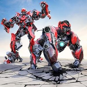 Robot Transforming Gorilla Attack: Gorilla Games