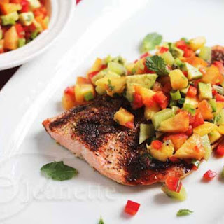 Roasted Chili Orange Salmon