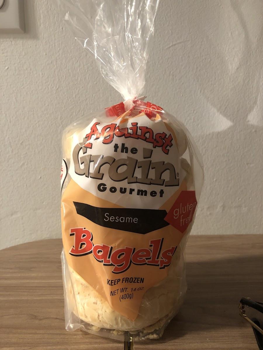 Sesame Bagels