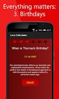 Screenshot of Love Calculator - Love Test