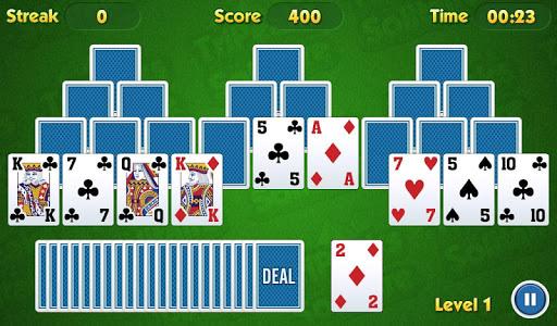 TriPeaks Solitaire Challenge painmod.com screenshots 13