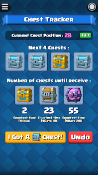 Chest Tracker for Clash Royale