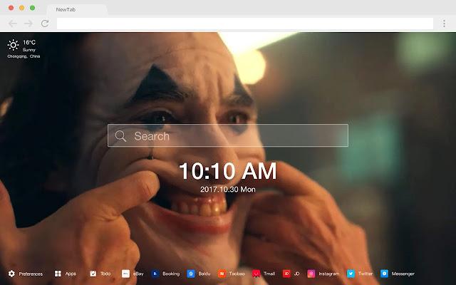 joker HD Wallpapers New Tab Movies Themes