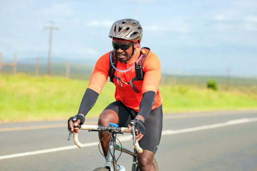 Masango cycles from Beitbridge to Cape on fatherhood cause