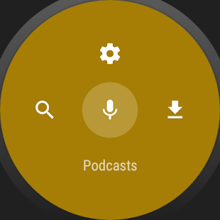 NavCasts - Wear Podcast Player- screenshot thumbnail