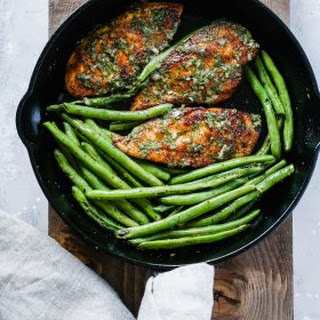 Chimichurri Chicken Green Beans Skillet.