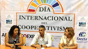 Presentación de la fiesta del cooperativismo del viernes