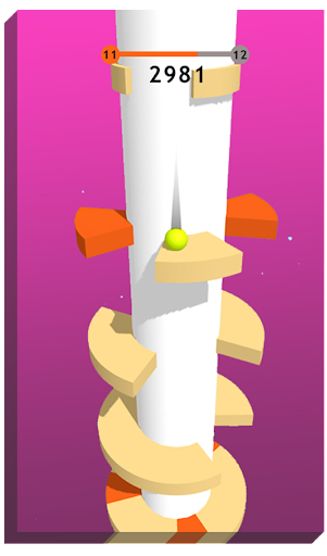 Helix Bounce Ball 1.0.8 de.gamequotes.net 2