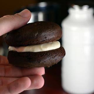 Chocolate Peppermint Whoopie Pies