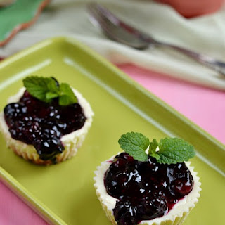 Mini Blueberry Cheesecakes Recipe
