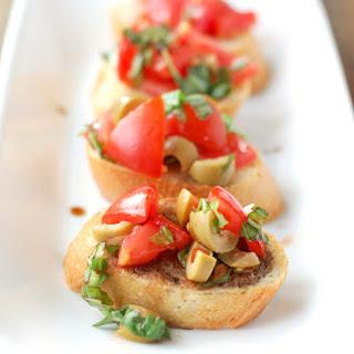 Bruschetta With Olives