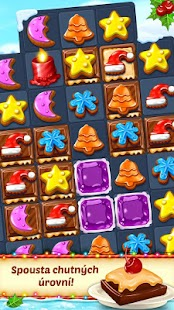 Christmas Cookie - Fun Match 3 - náhled