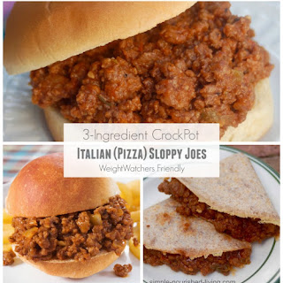 Slow Cooker Italian (Pizza) Sloppy Joes