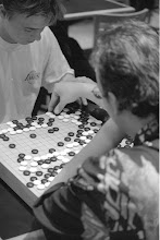 Photo: Playing Go